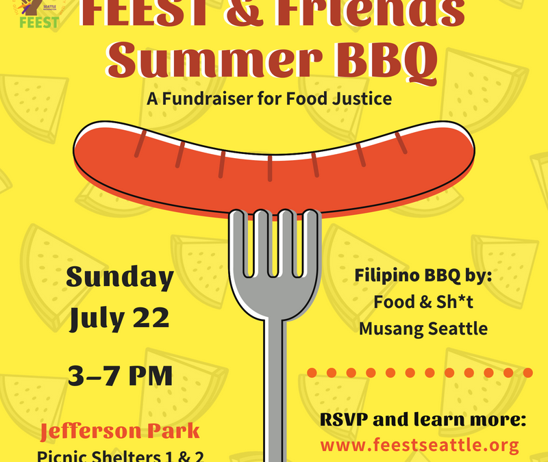 Come Chow Down at the FEEST & Friends Summer BBQ!